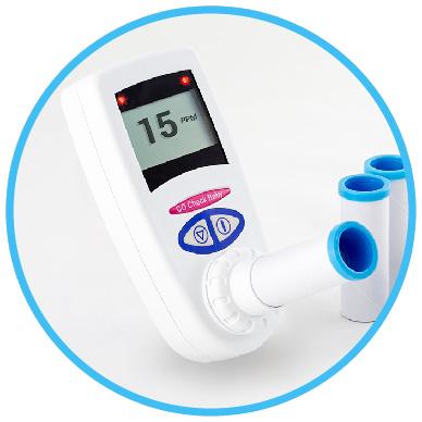 CO Check Baby Breath Tester
